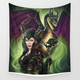 Enter The Dragon Wall Tapestry