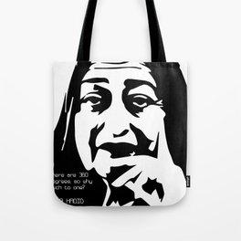 Zaha Hadid Quote Tote Bag