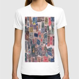 20th Century through stamps T-shirt