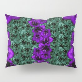 life in jungle so beautiful filled of ornate flowers Pillow Sham