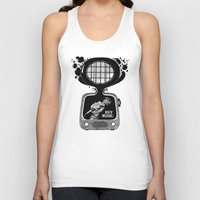 transistor Tank Tops featuring Buy Music. by wurkingartist