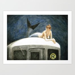 The Montague Street Tunnel Art Print