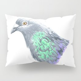 I Shat The Sheriff (Rock Pigeon) Pillow Sham