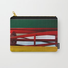 "tricolor lawnmower ""flag"" abstract Carry-All Pouch"