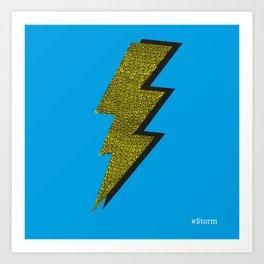 Storm - Psychedelic Art Print