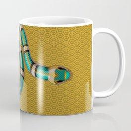 Snake Peonies Coffee Mug