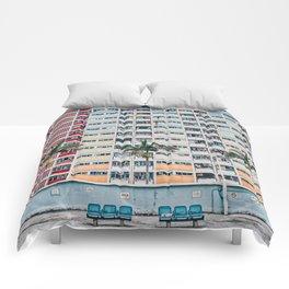 Rainbows at Choi Hung Comforters