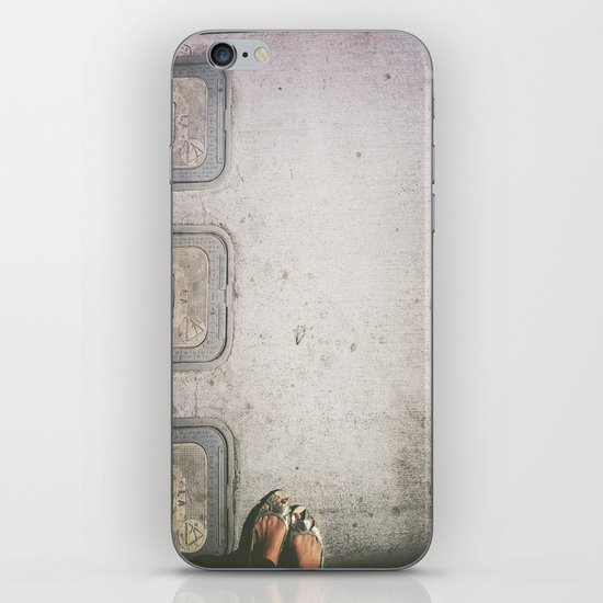 Three Water Sewers iPhone & iPod Skin