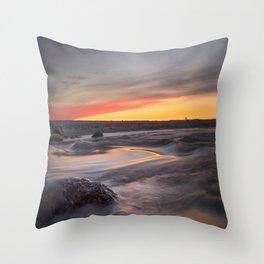 Sound of the sea Throw Pillow