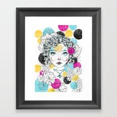 Arlequim Cmyk Framed Art Print