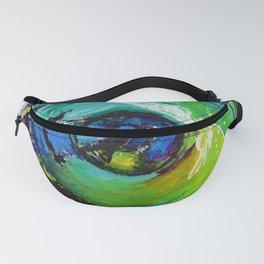 L'œil sur le futur, acrylique / Eye on the futur, Acrylic artwork Fanny Pack