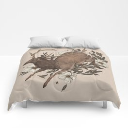 Floral Elk Comforters