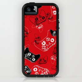 Video Game Red iPhone Case