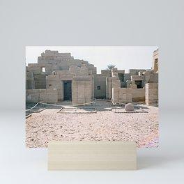 Temple of Dendera, no. 1 Mini Art Print