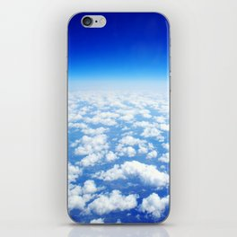 Looking Above the Clouds iPhone Skin