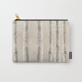 Birches-Winter Carry-All Pouch