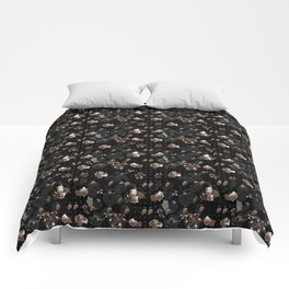 Floral series - Goldy Comforters