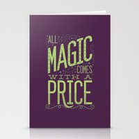 Stationery Cards featuring Magic by Dorothy Leigh