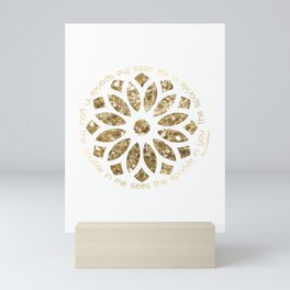 The Sparkle in Me Sees the Sparkle in You Mini Art Print