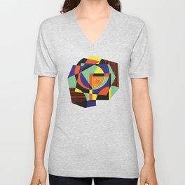 Geometric#14 Unisex V-Neck