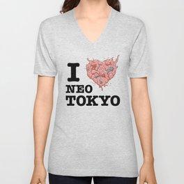 I Tetsuo Neo Tokyo Unisex V-Neck
