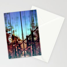 Flipped On - Abstract Geometry Photo Stationery Cards