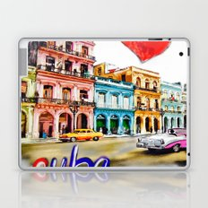 I  love Cuba Laptop & iPad Skin