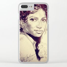 Dancing the Night Clear iPhone Case