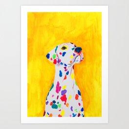 Lovey Art Print