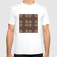 Salad Spinner Pattern Mens Fitted Tee White MEDIUM