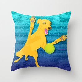 The one and only Movitz Throw Pillow