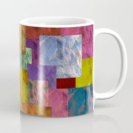 Patchwork Colour-wash Coffee Mug