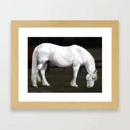 Deserved Retirement Framed Art Print