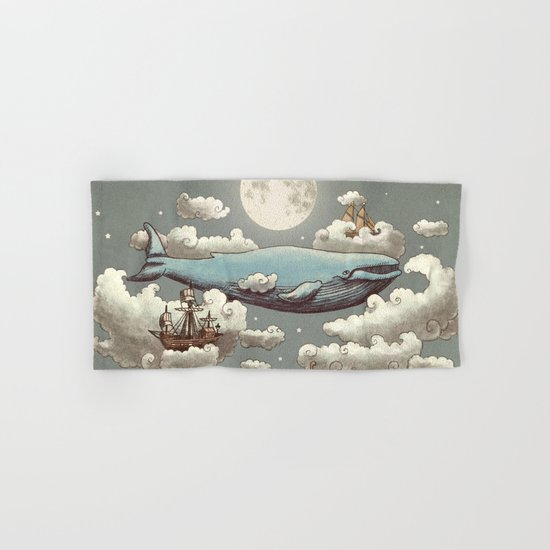 Ocean Meets Sky Hand & Bath Towel