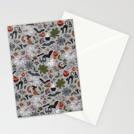 Embroidered halloween Stationery Cards