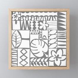 Chachani - White Framed Mini Art Print