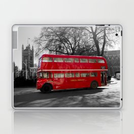 Red Routemaster bus Laptop & iPad Skin
