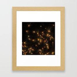 Fire Space Framed Art Print