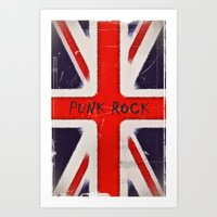 punk rock Art Prints featuring Punk rock by Shalisa Photography