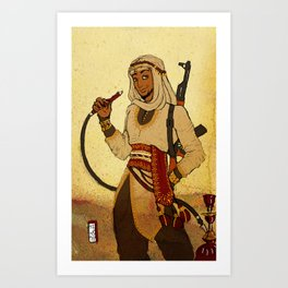 Modern Day Aladdin Art Print