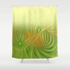 window curtain fractal design -118- Shower Curtain