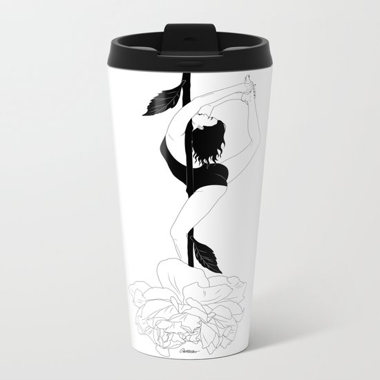 Natural Dance Metal Travel Mug