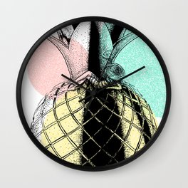 Chillin Pineapple Wall Clock