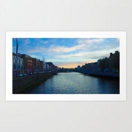 river leffy  Art Print