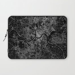 Cincinnati map Laptop Sleeve