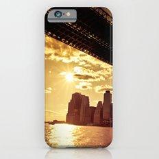 The New York City Skyline at Sunset Slim Case iPhone 6s