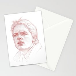 Marty McFly Stationery Cards
