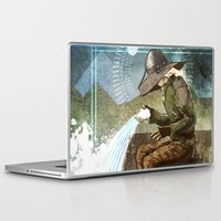 """dragon age Laptop & iPad Skins featuring Dragon Age Inquisition - Cole - Charity by Barbara """"Yuhime"""" Wyrowińska"""