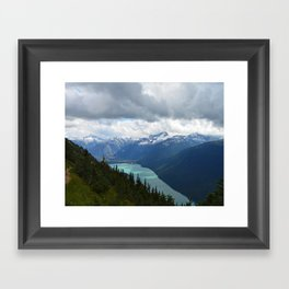 Whistler trails Framed Art Print