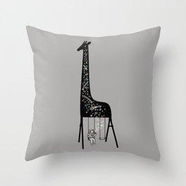 Dream High Throw Pillow